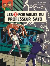 couverture les 3 formules du professeur sato centaurclub