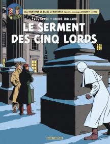 couverture le serment des cinq 5 lords centaurclub