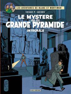 Blake mortimer couverture mystere grande pyramide integrale