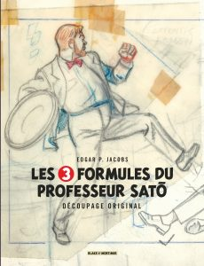 blake mortimer couverture formules professeur sato crayon centaurclub