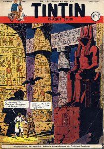 couverture Tintin Blake Mortimer centaurclub mystere grande pyramide