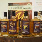 blake mortimer 4 bouteilles whisky centaurclub