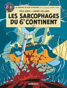 couverture blake mortimer sarcophages 6 continent duel esprit centaurclub